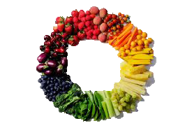 Fruit & Veggie Wreath